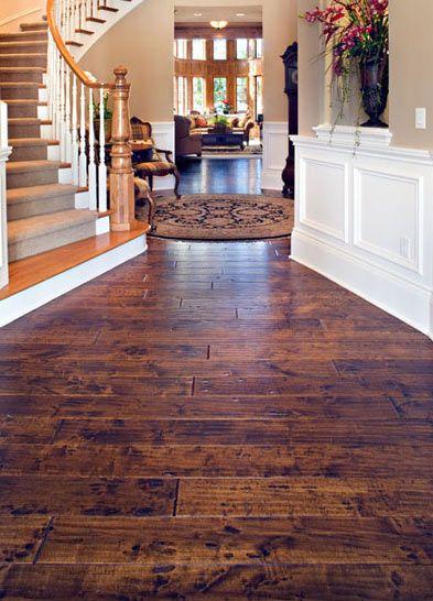 hand scraped wood floors hand-scraped birch wood floor - beautiful hardwood floors and warmth and  style QPSWIEU