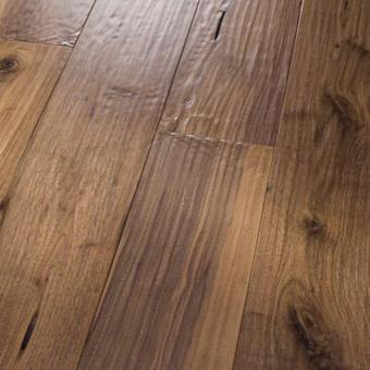 hand scraped wood floors premium amish hand scraped black walnut natural JFESFUQ