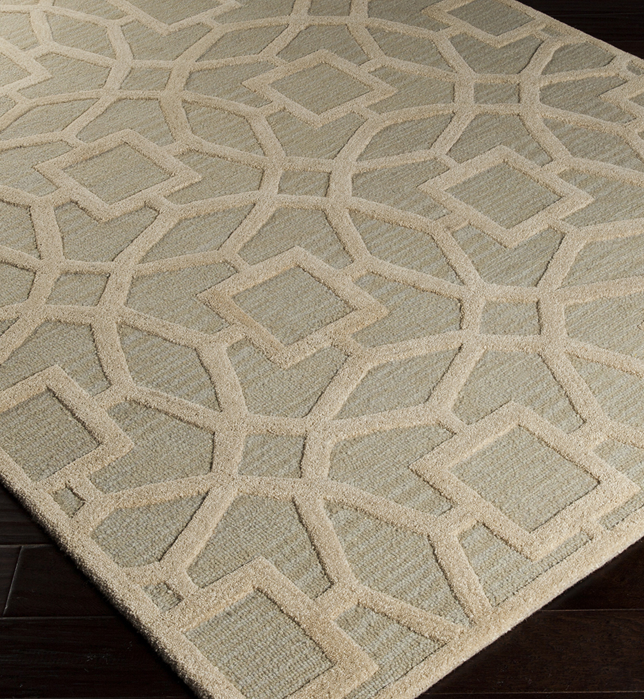 Hand tufted rugs surya - dst1170-23 - dream 2u0027 by 3u0027 beige transitional hand tufted undefined PGFLMWK