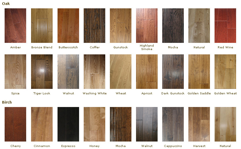 hardwood floor colour solid hardwood flooring wood species color choice GDKWXSO
