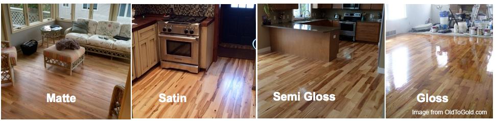 hardwood floor finishes high gloss, satin, matte finishes QAKSLSX