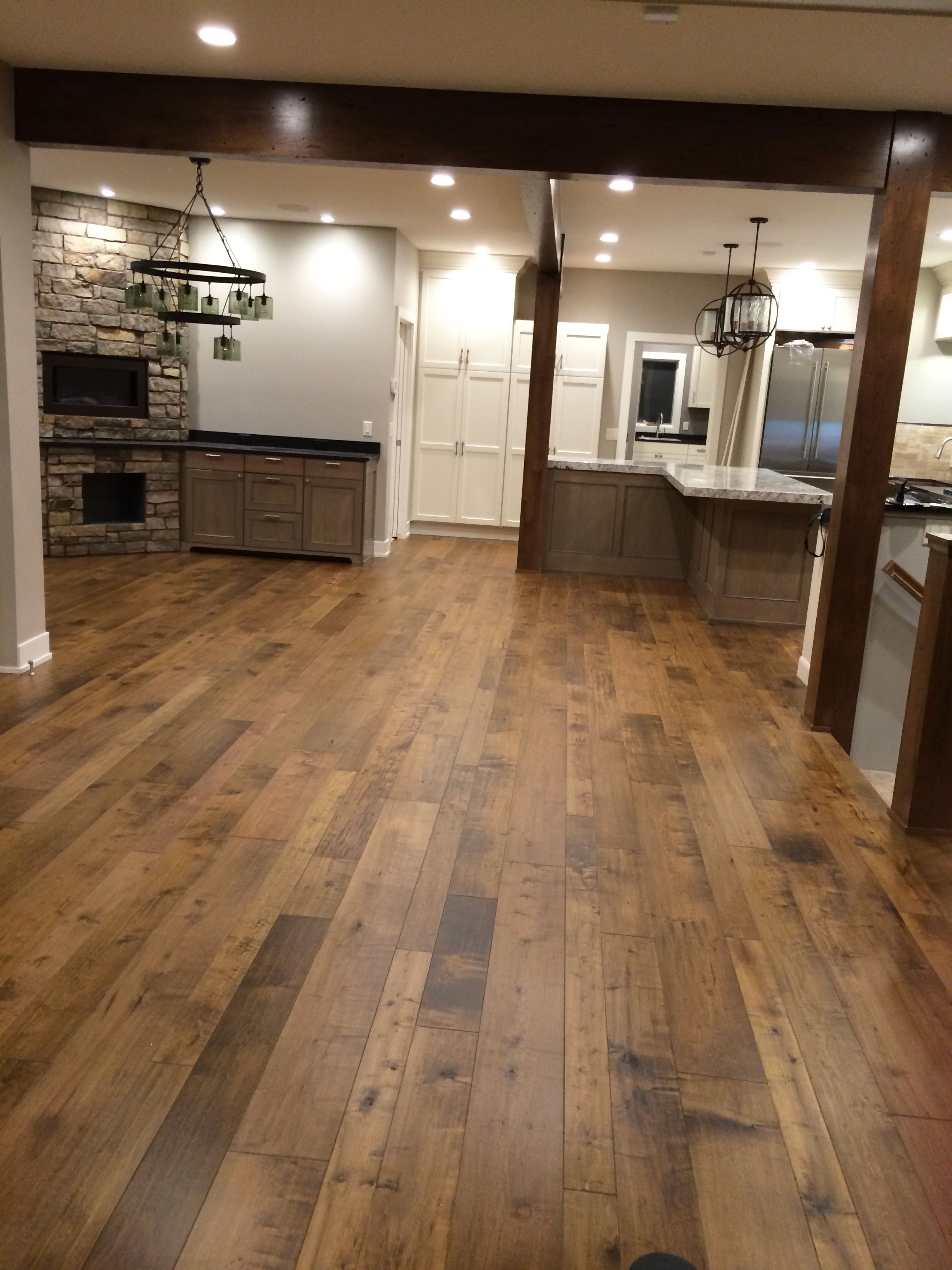 hardwood floor ideas the floors were purchased from carpets direct and installed by fulton  construction. ZJSZKQO