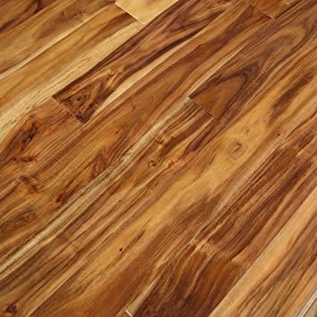 hardwood flooring acacia natural hand scraped (sample) - solid hardwood floor aluminum oxide  - IADOGBQ