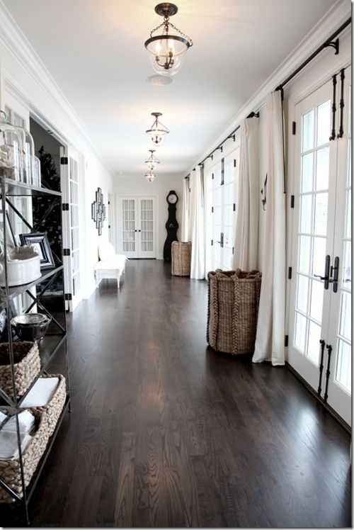 hardwood flooring ideas dark hardwood floors for an entryway to make it look luxurious DUXNCZW