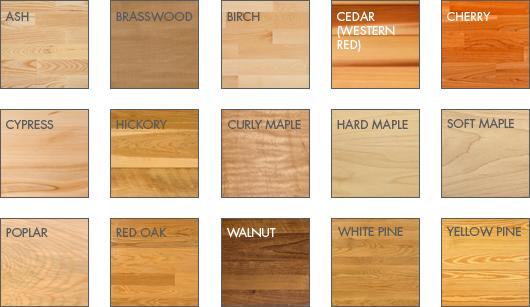 hardwood lumber appalachian wood samples YTKBDWR