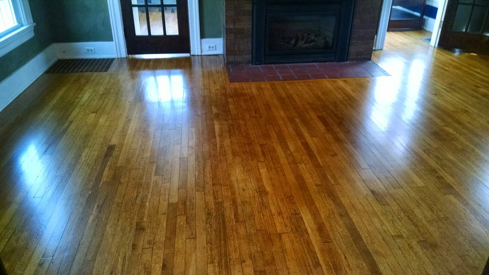 hardwood refinishing all at a cost 50% less than traditional methods MFMJGYW