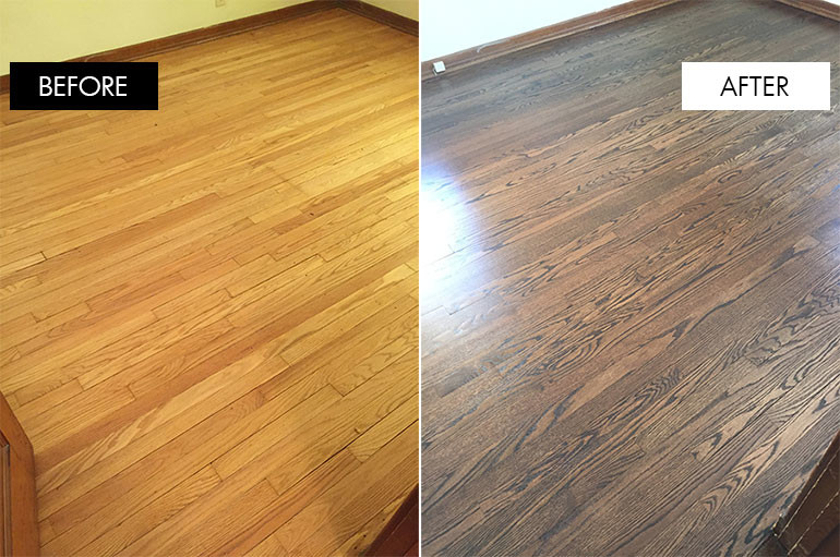hardwood refinishing wide refinished hardwood floors before and after pictures GXNPEDJ