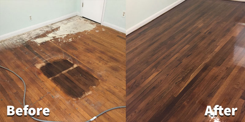 hardwood refinishing wood floor refinishing without sanding before after hardwood refinish 5  grand and PUDCNVS