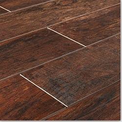 Hardwood tile flooring cabot porcelain tile - redwood series SIWDZXD