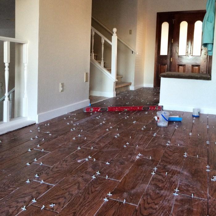 Hardwood tile flooring wood tile flooring: renovation diary TAPSEPJ