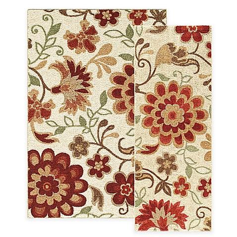 harper floral rug IQVVSPP