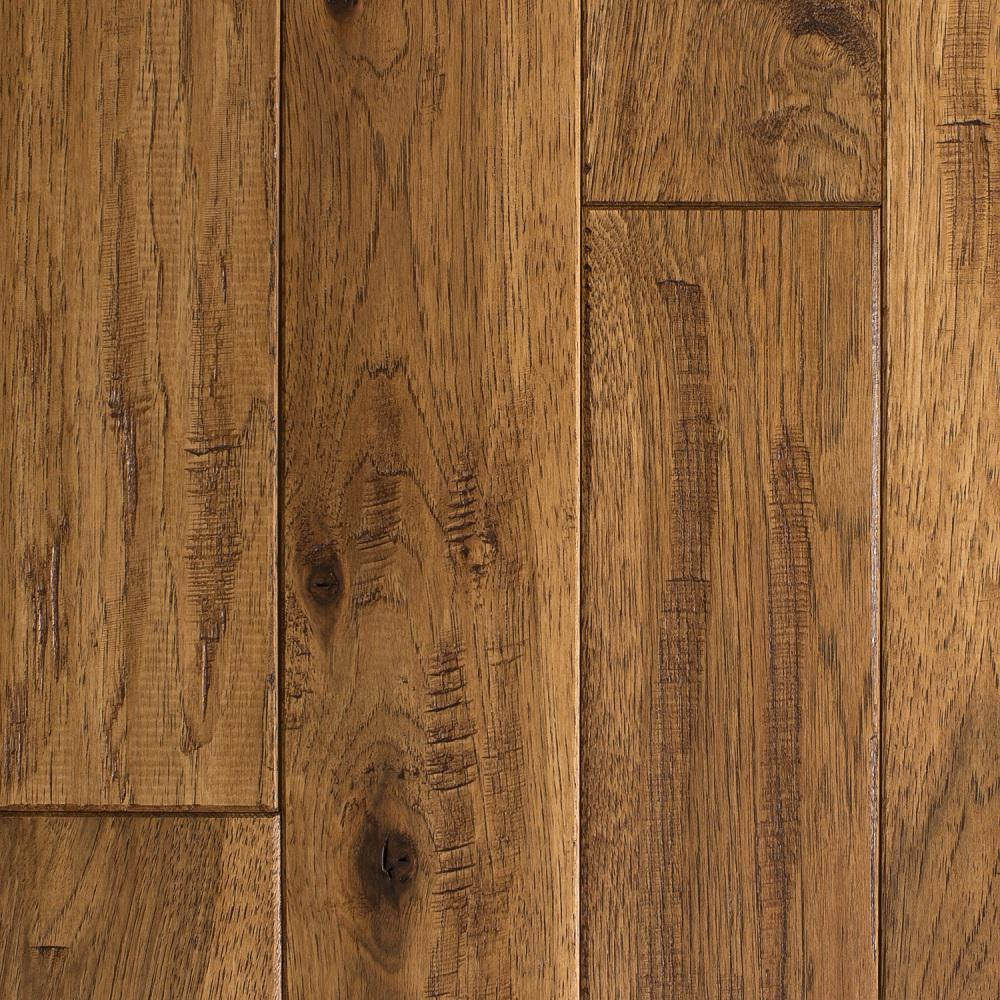 hickory hardwood flooring blue ridge hardwood flooring hickory vintage barrel hand sculpted 3/4 in. t ZXFROMU