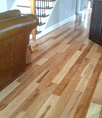 hickory hardwood flooring solid prefinished 100 year limited finish  warranty (5) WOUHOSE