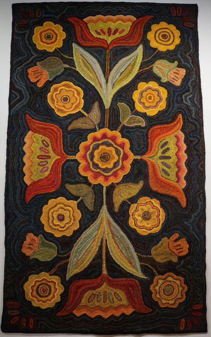 hooked rugs rug hooking KJPECCA