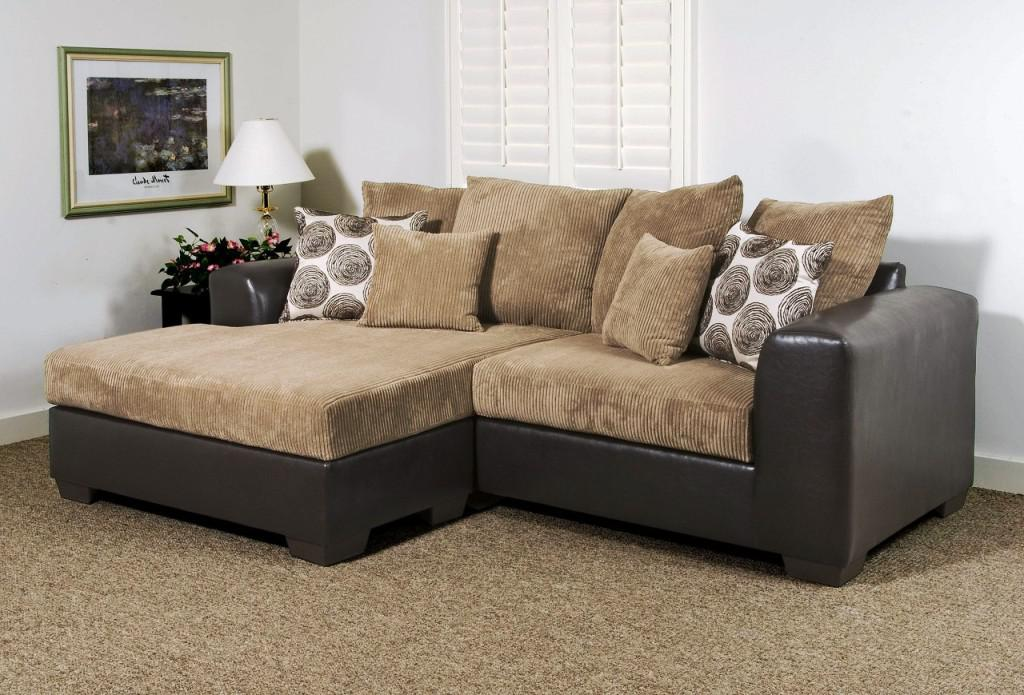 image of: small sectional sofa with chaise pillow KQMPRJB