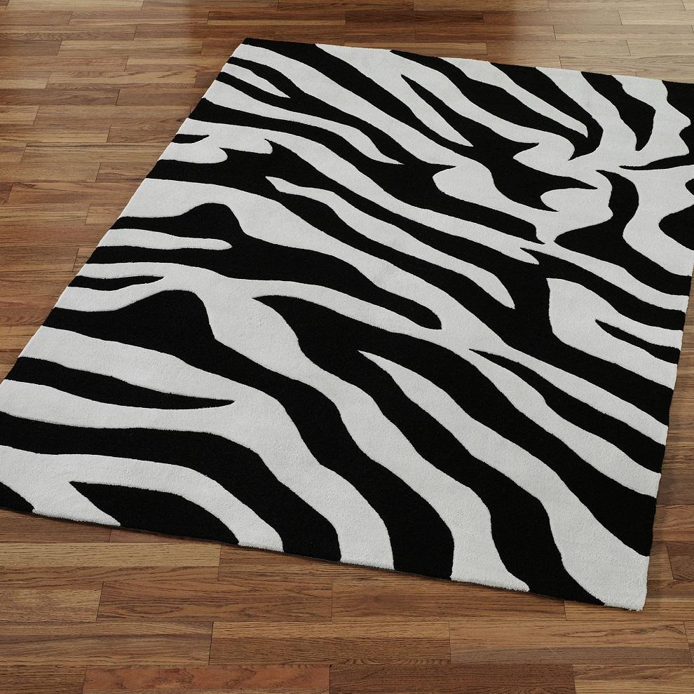 image of: zebra rug print WCASBTQ