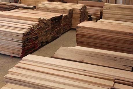 in-stock hardwood lumber IQJKWAI