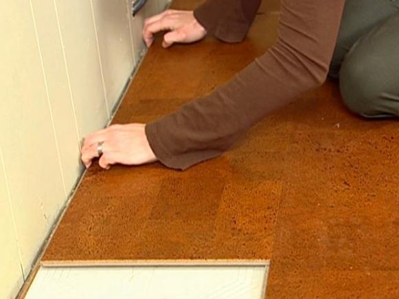 installing natural cork flooring RWVZYOP