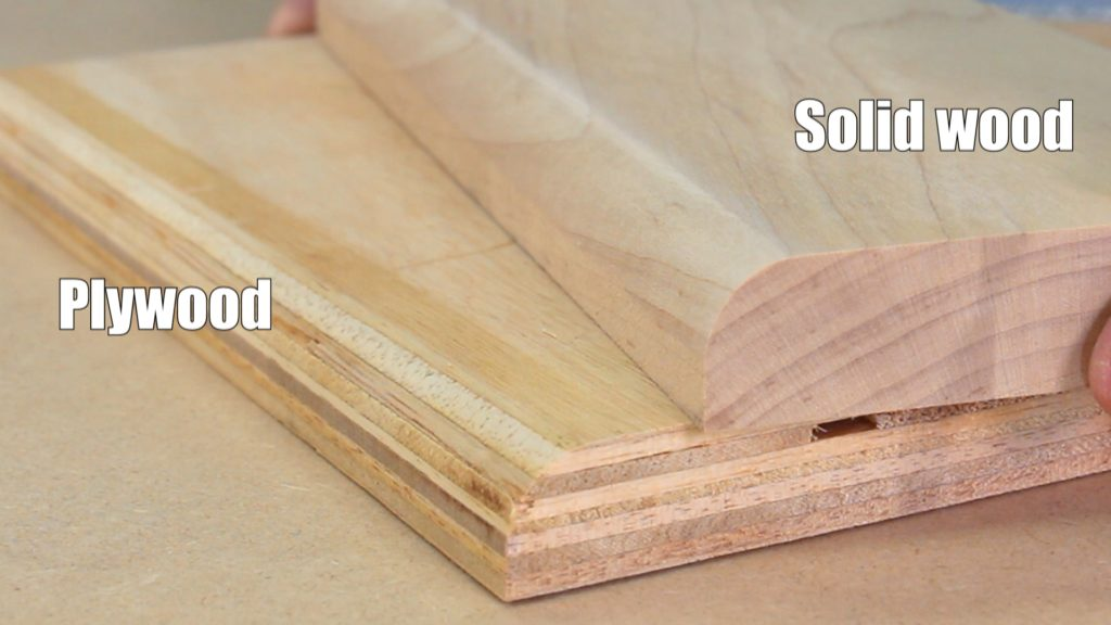 itu0027s easy enough to use solid wood for small projects, but what if YPBNSXO