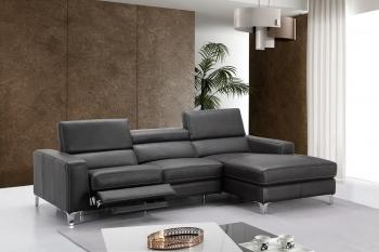italian leather sofa high-class all italian leather sectional sofa YPVFZEF