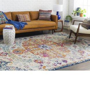 jahiem saffron/blue area rug JOEIXDY