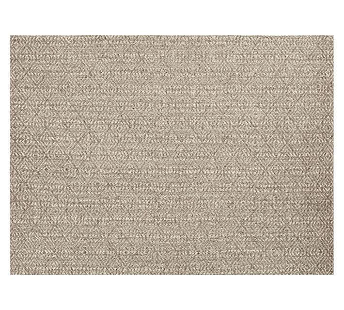 kara custom sisal rug - cardamom | pottery barn VWQPUUL