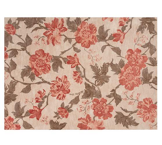 kismet tufted floral rug - ivory/neutral RQBMJJW