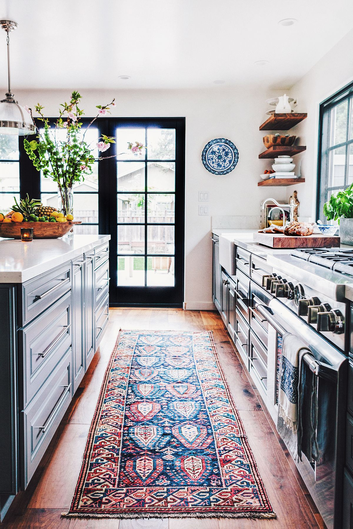 kitchen carpet finding the right antique rug with abc carpet u0026 home ZXSZBQN