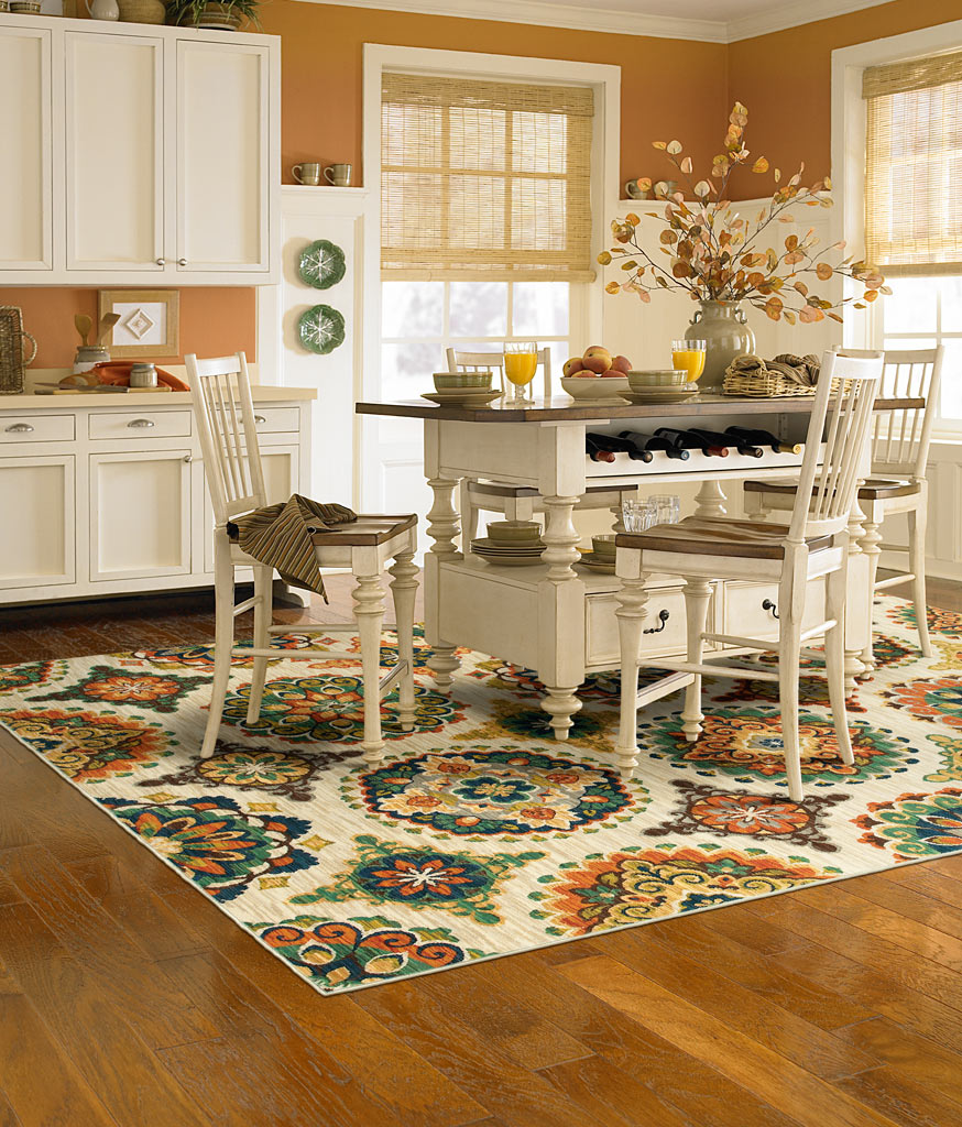 kitchen carpet hardwood kitchen with rug CUILARR