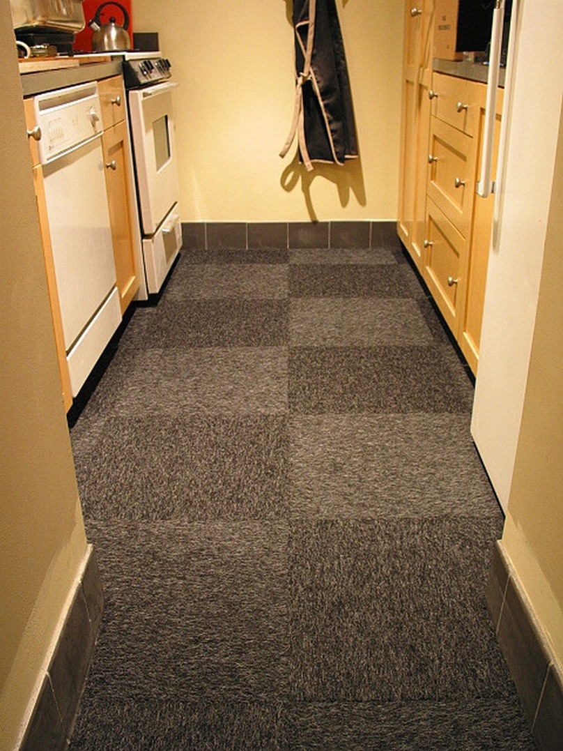 kitchen carpet kitchen floor covering carpet tiles for small space WVJHWFS