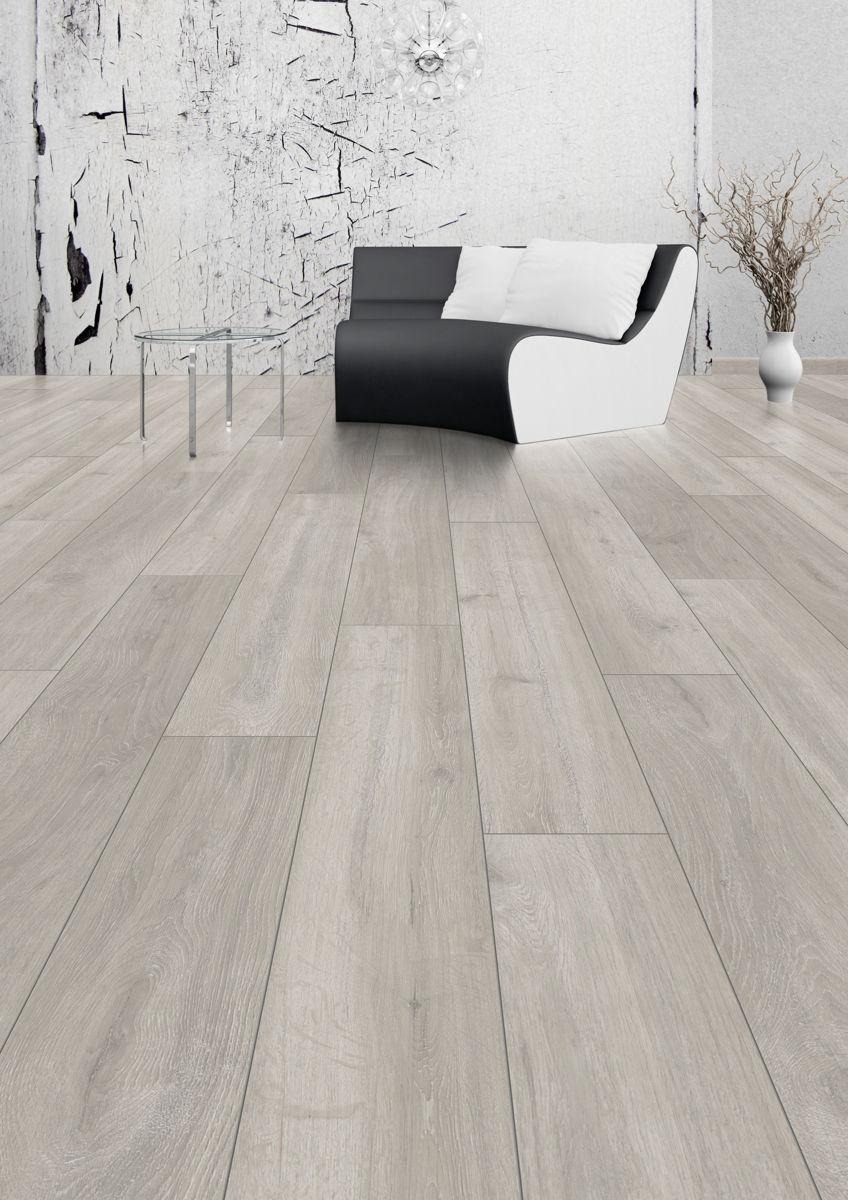 laminate flooring beautiful black and white theme sofa chair and glass round table 4 legged LRNMWKW