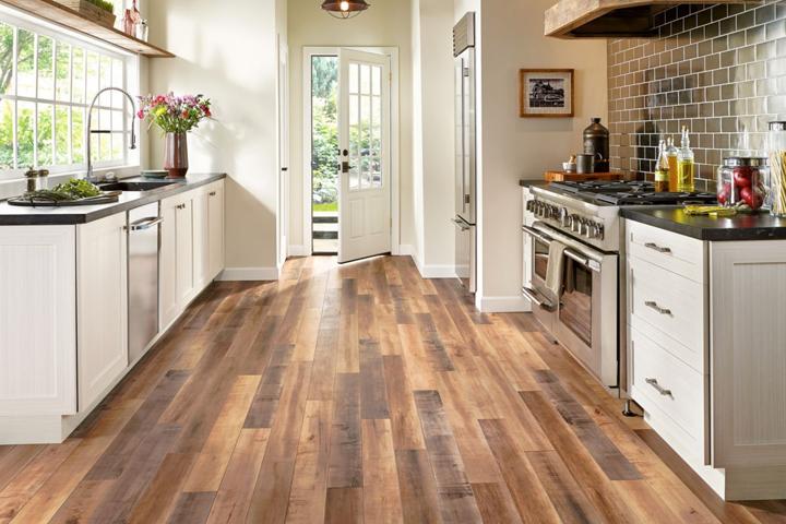 laminate flooring wood look laminate in the kitchen - l6625 global reclaim laminate - worldy VCCEGWZ