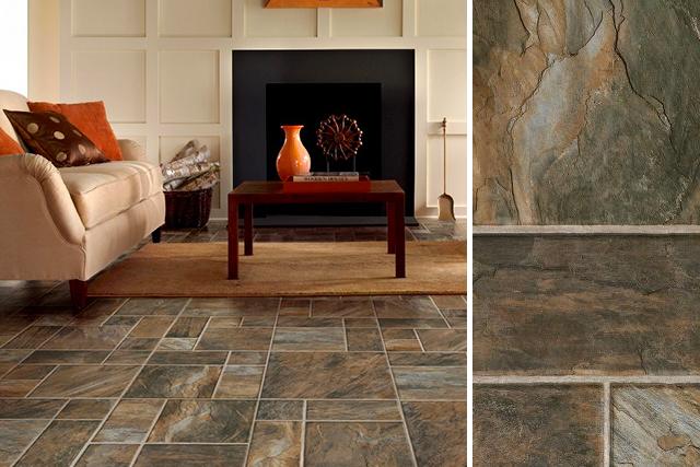 laminate stone flooring living room stone look laminate flooring - adobe - l6586 YKTPHBT