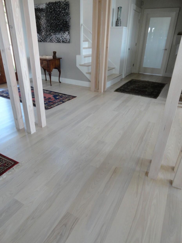 laminate wood flooring ideas white waterproof laminate wood flooring in small and narrow hallway house  design PGUGZKB