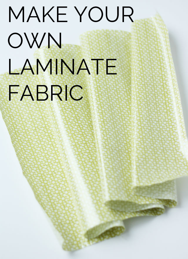 Laminated fabric make your own laminate with any fabric | diy laminate fabric | sewing XSUTBKE