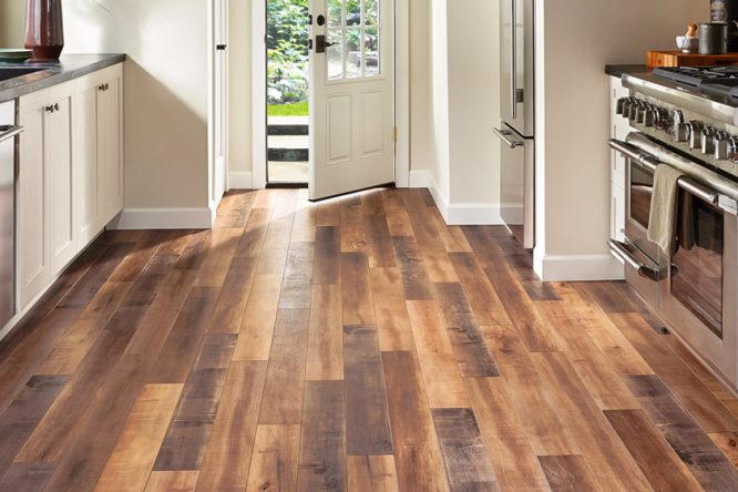 Different types of laminated flooring