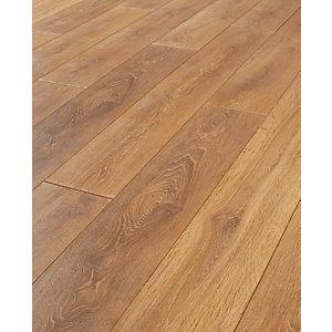 laminated flooring wickes aspiran oak laminate flooring - 2.22m2 pack LFYIIMO