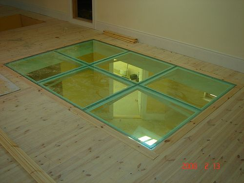 laminated glass floor system glass floors / modular glass blocks systems YWNXHUA
