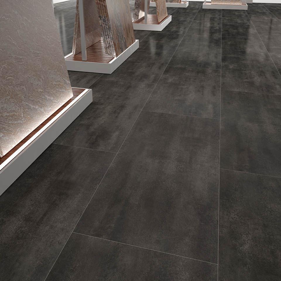 Laminated look hdf laminate flooring / floating / stone look / tile look - óxido IXWAENS