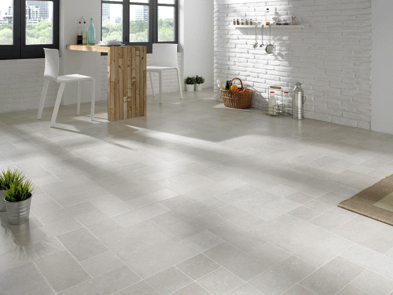 Laminated look hdf laminate flooring / floating / tile look / residential - aventino DPXKSRF