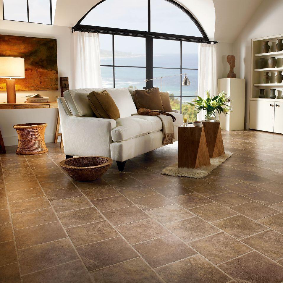 Laminated look laminated look hdf laminate flooring / click-fit / stone look / tile look SSEMZZR