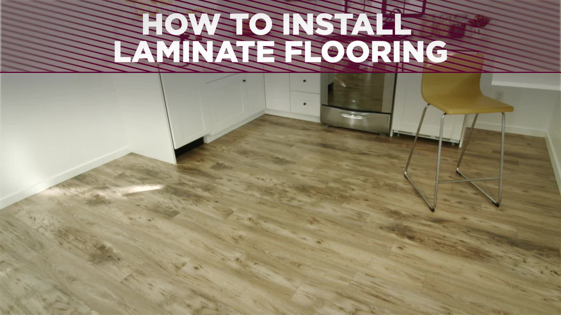 laminated wooden flooring how to install a laminate floor | how-tos | diy VRNVZEN