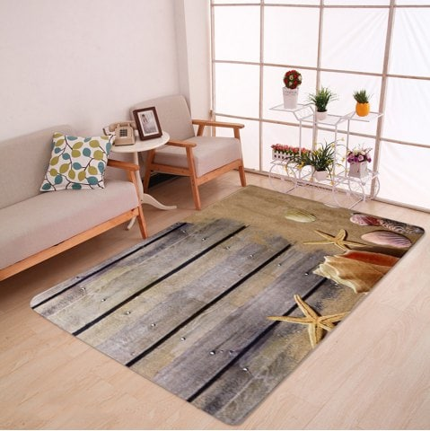 large area rugs -43% extra large coral velvet plank shell area rug SPLMZPD