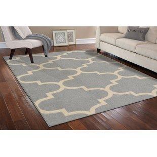 large area rugs large quatrefoil gray/ivory area rug JPURFXA
