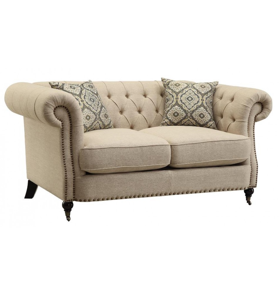 large loveseat loveseat with large rolled arms OOQLVNP