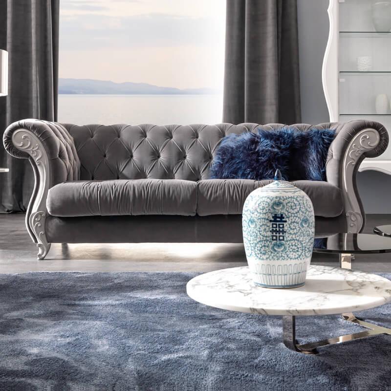 Enhance your sitting room with italian sofa