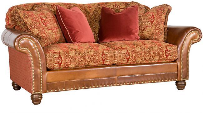 leather fabric sofa katherine leather/fabric sofa JFGYART