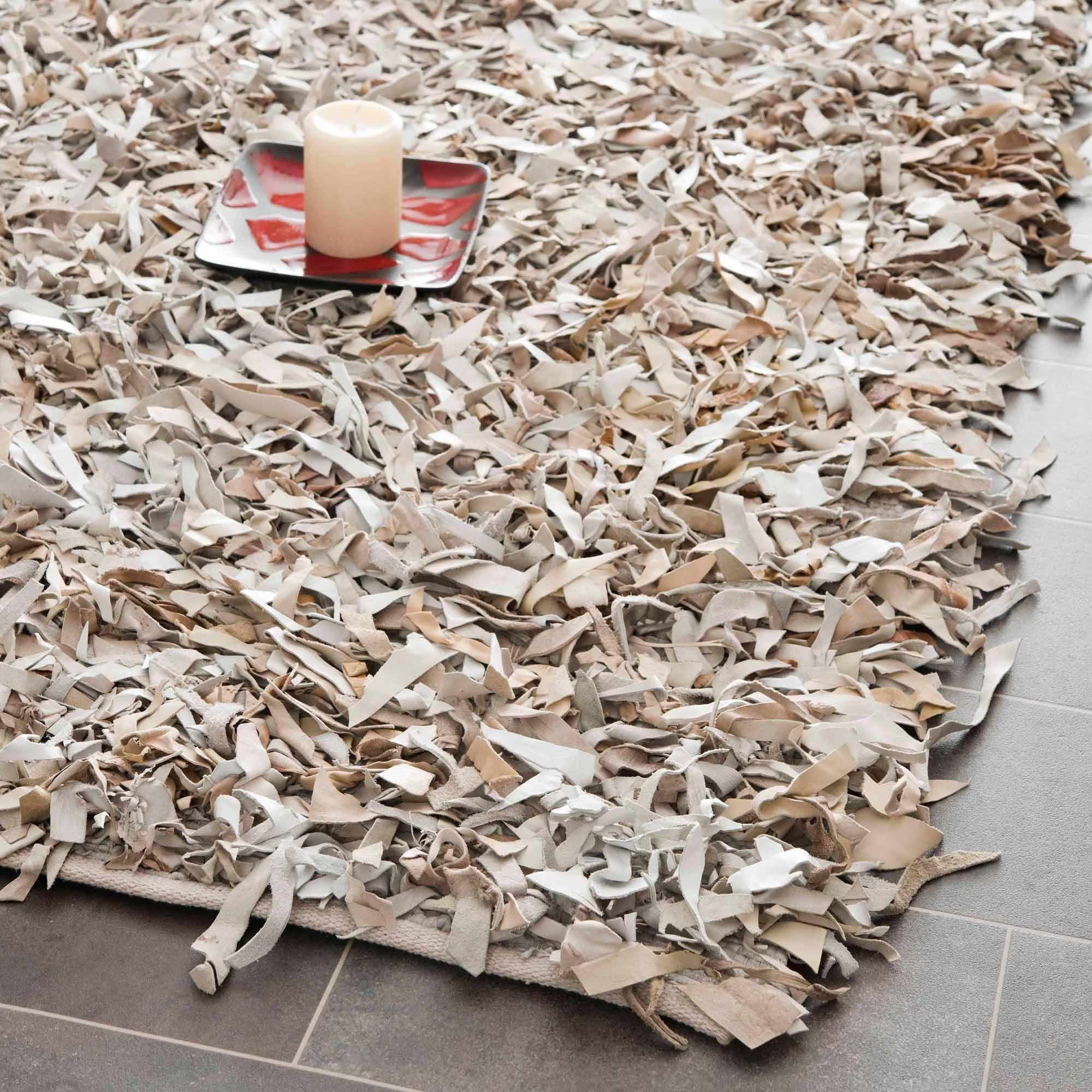 Leather shag rugs safavieh mariam leather shag area rug or runner - walmart.com GXBWNRX