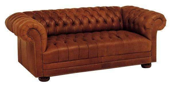 leather sleeper sofa living room chesterfield  SMUFYSS