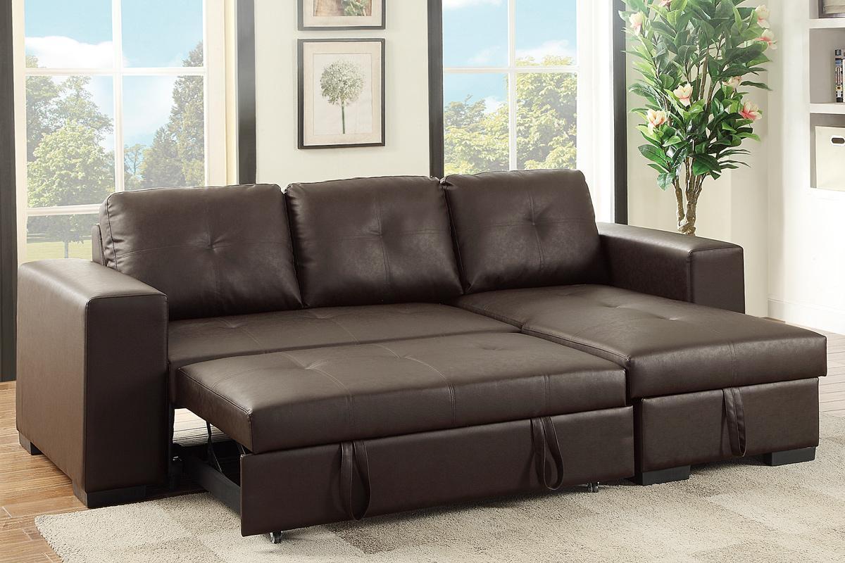 leather sleeper sofa samo brown leather sectional sleeper sofa GYRQPCY
